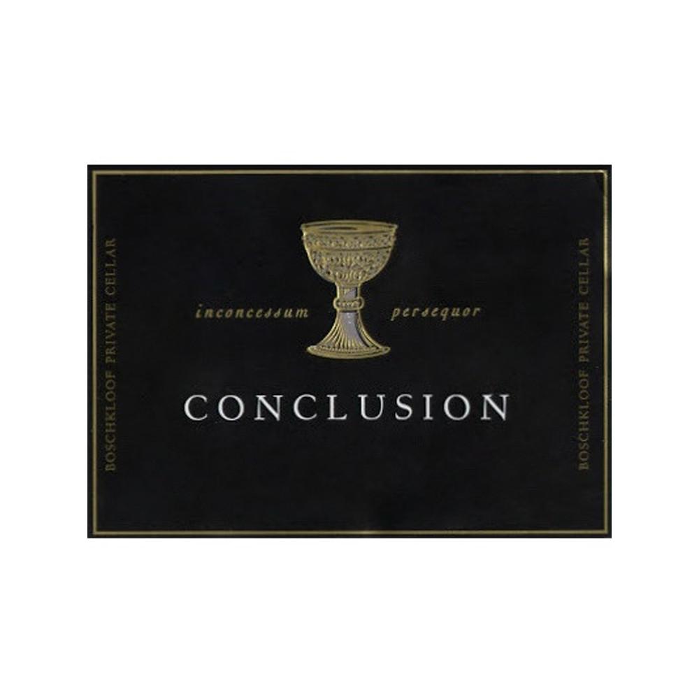 Boschkloof Conclusion 2016 (6x75cl)
