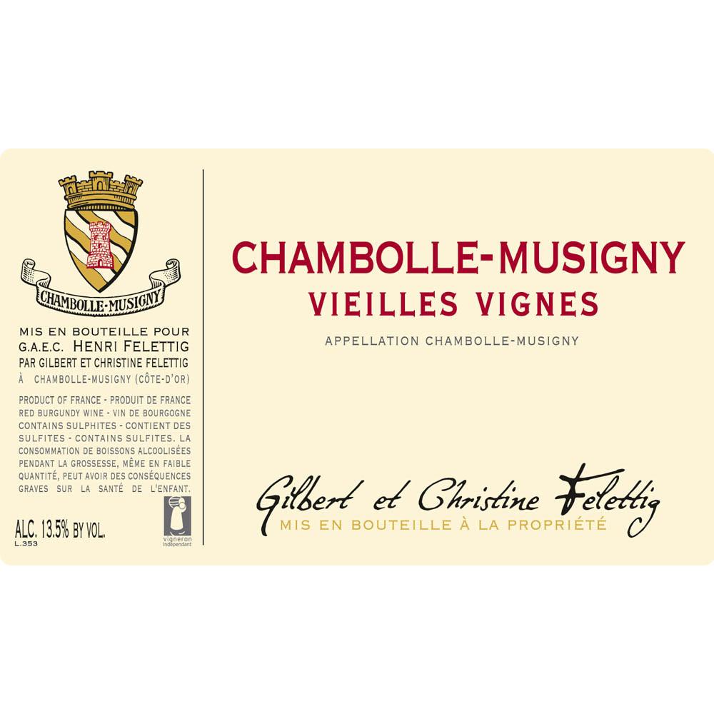Felettig Chambolle-Musigny Vieilles Vignes 2017 (6x75cl)