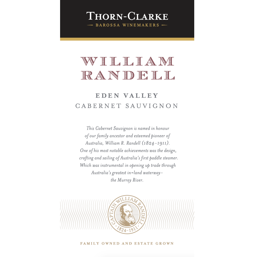 Thorn Clarke William Randell Cabernet Sauvignon 2012 (6x75cl)