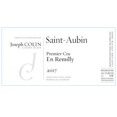 Joseph Colin St Aubin 1er Cru En Remilly 2018 (6x75cl)