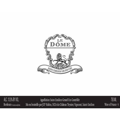 Le Dome 2009 (12x75cl)