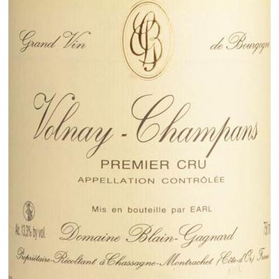 Blain-Gagnard Volnay Champans 1er Cru 2017 (12x75cl)