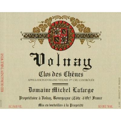 Michel Lafarge Volnay 1er Cru Clos Les Chenes 2017 (6x75cl)