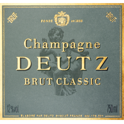 Deutz Brut Classic NV (6x75cl)