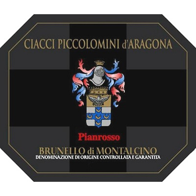 Ciacci Piccolomini Brunello di Montalcino Pianrosso 2012 (1x500cl)