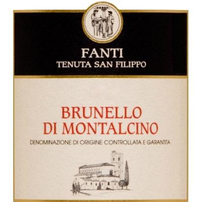 Fanti San Filippo Brunello di Montalcino 2007 (6x75cl)