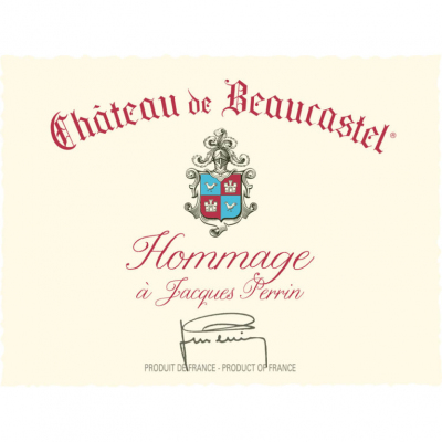 Beaucastel Chateauneuf-du-Pape Hommage a Jacques Perrin 2019 (3x75cl)