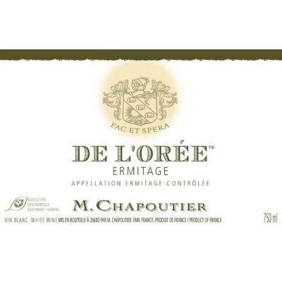 Chapoutier Ermitage De L'Oree Blanc 2012 (6x75cl)