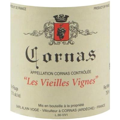 Alain Voge Cornas VV 2017 (6x75cl)