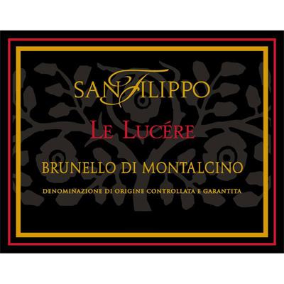 San Filippo Brunello di Montalcino Lucere 2011 (1x150cl)