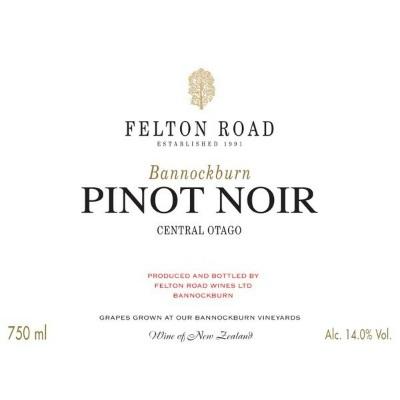 Felton Road Bannockburn Pinot Noir 2018 (6x75cl)