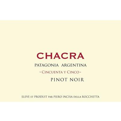 Chacra Pinot Noir Cincuenta y Cinco 55 2020 (6x75cl)
