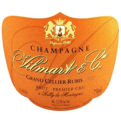 Vilmart Grand Cellier Rubis Rose Brut 2012 (6x75cl)
