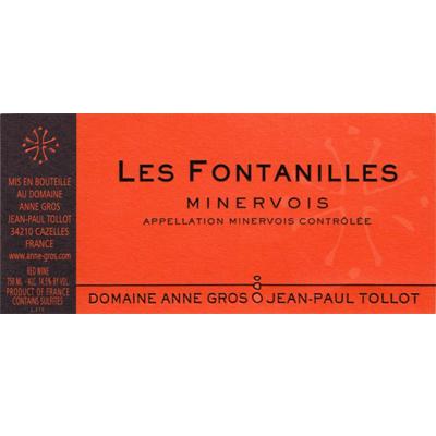 Anne Gros & Jean-Paul Tollot Minervois Les Fontanilles 2015 (6x75cl)