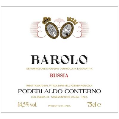 Aldo Conterno Barolo Bussia 2015 (6x75cl)