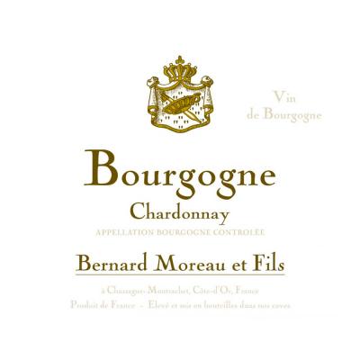 Bernard Moreau Bourgogne Chardonnay 2016 (12x75cl)