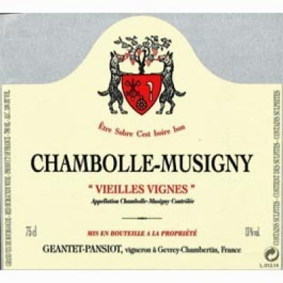 Geantet Pansiot Chambolle Musigny VV 2014 (12x75cl)
