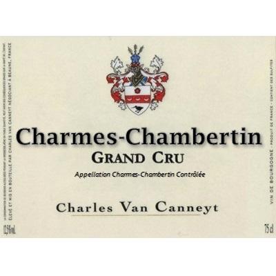 Charles Van Canneyt Charmes-Chambertin Grand Cru 2019 (6x75cl)