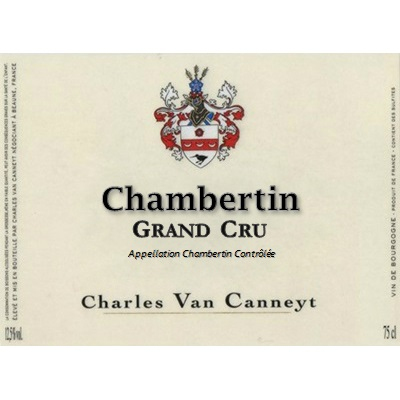 Charles Van Canneyt Chambertin Grand Cru 2019 (6x75cl)