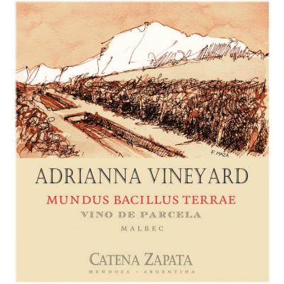 Catena Zapata Adrianna Mundus Bacillus Terrae Malbec 2018 (3x75cl)
