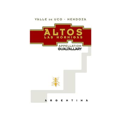 Altos Las Hormigas Appellation Gualtallary Malbec 2018 (6x75cl)