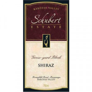 Schubert Estate Goose Yard Block Shiraz 2006 (6x75cl)