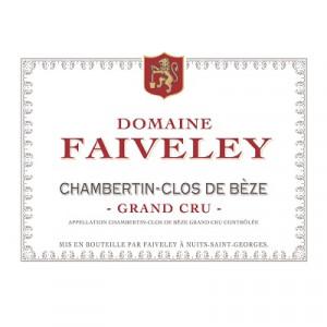 Faiveley Chambertin-Clos-De-Beze Grand Cru 2013 (6x75cl)