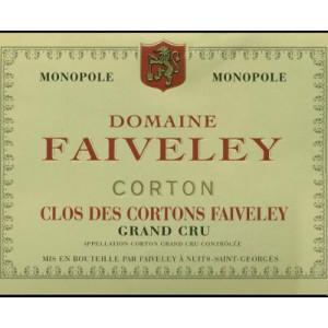 Domaine Faiveley Corton Clos des Cortons Faiveley Grand Cru 2018 (6x75cl)