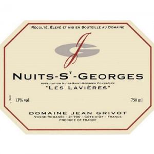 Jean Grivot Nuits-Saint-Georges Les Lavieres 2018 (6x75cl)
