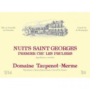 Taupenot Merme Nuits-Saint-Georges 1er Cru Les Pruliers 2015 (6x75cl)