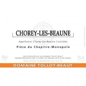 Tollot-Beaut Chorey-Les-Beaune Piece du Chapitre 2018 (6x75cl)