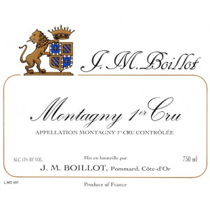 Jean-Marc Boillot Montagny 1er Cru 2018 (12x75cl)