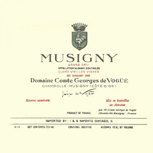 Comte Georges de Vogue Musigny Grand Cru Blanc 2017 (6x75cl)