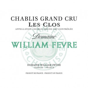 William Fevre Chablis Grand Cru Les Clos 2016 (6x75cl)