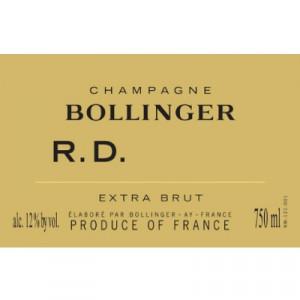 Bollinger RD 2002 (6x75cl)