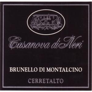 Casanova di Neri Brunello di Montalcino Cerretalto 2010 (3x75cl)