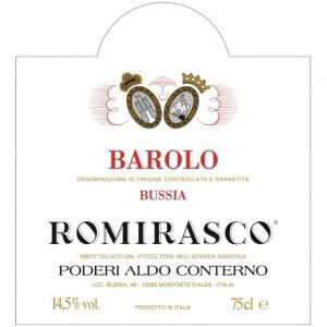 Aldo Conterno Barolo Romirasco 2015 (6x75cl)