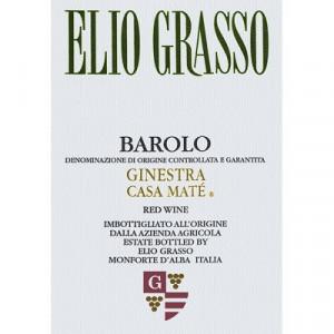 Elio Grasso Barolo Ginestra Casa Mate 2015 (6x75cl)