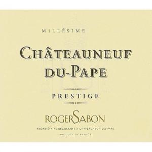 Roger Sabon Chateauneuf-du-Pape Cuvee Prestige 2017 (6x75cl)