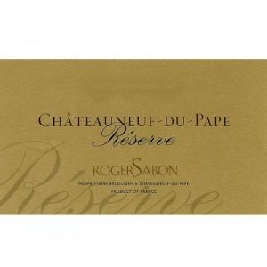Roger Sabon Chateauneuf-du-Pape Reserve 2017 (6x75cl)