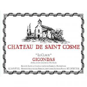 Saint Cosme Gigondas Le Claux 2013 (6x75cl)