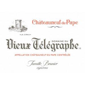 Vieux Telegraphe Chateauneuf-du-Pape 2015 (6x75cl)