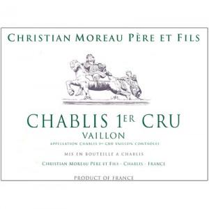 Christian Moreau Chablis 1er Cru Vaillon 2018 (6x75cl)