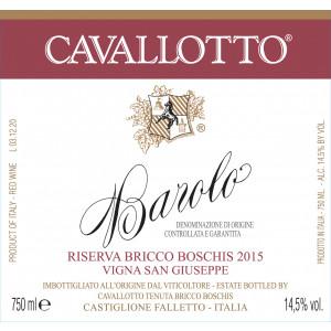 Cavallotto Barolo Riserva Bricco Boschis San Giuseppe 2010 (6x75cl)