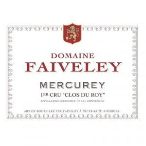 Faiveley Mercurey 1er Cru Clos du Roy 2018 (6x75cl)