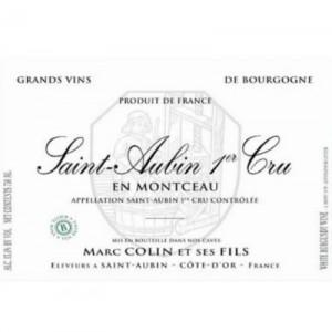 Marc Colin & Fils Saint-Aubin 1er Cru En Montceau 2017 (6x75cl)