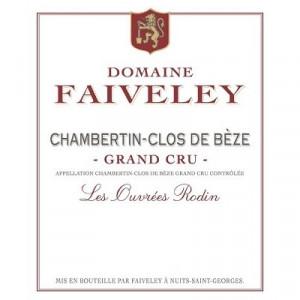 Faiveley Chambertin-Clos-de-Beze Grand Cru Les Ouvrees Rodin 2017 (6x75cl)