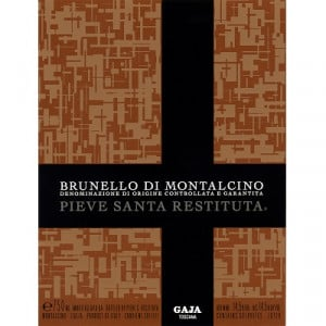 Gaja Pieve Santa Restituta Brunello di Montalcino 2016 (6x75cl)