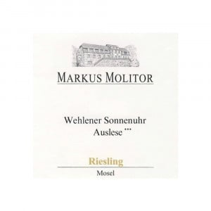 Markus Molitor Wehlener Sonnenuhr Riesling Auslese 3* Gold Capsule 2018 (6x75cl)