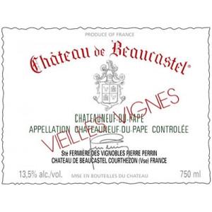Beaucastel Chateauneuf-du-Pape Blanc Roussanne VV 2016 (3x75cl)